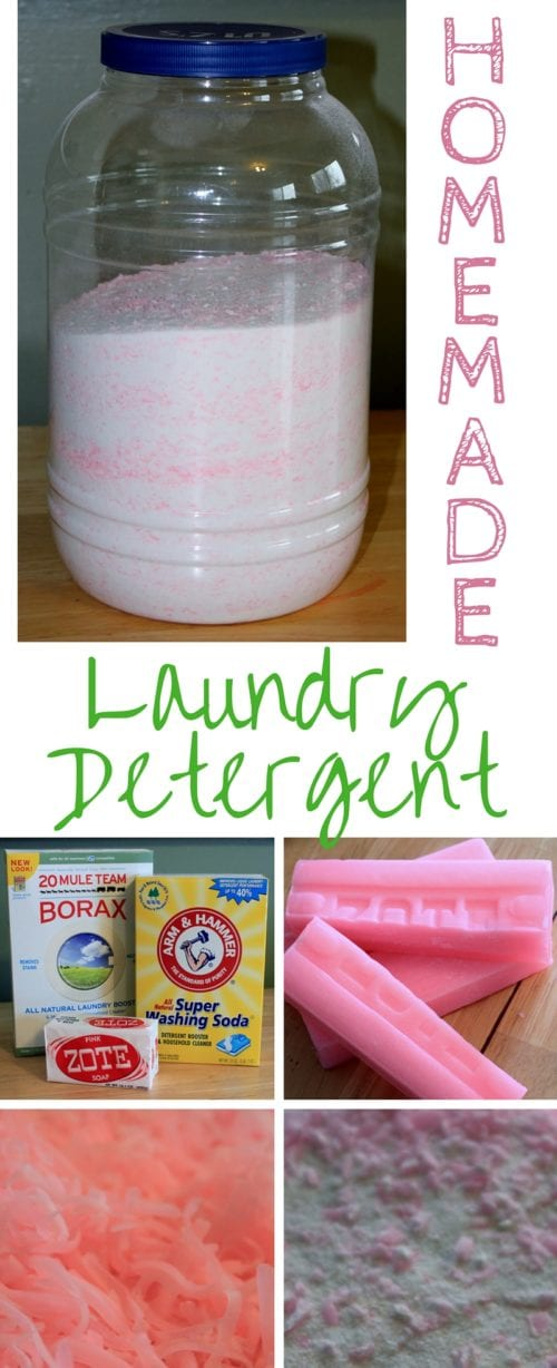 Homemade Laundry Detergent | Powder Detergent | For the Home | Zote | Cleaning | DIY