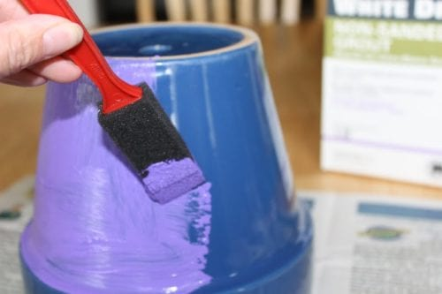 Chalkboard Flower Pot | Chalk Board Paint Recipe | Outdoor Decor | DIY Craft Ideas