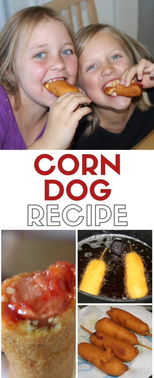 How to Make Corn Dogs Recipe | Simple Recipe | Easy Dinner Ideas | Fair Food | DIY Tutorial