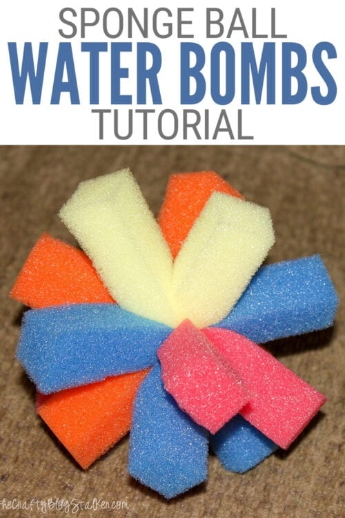 title image for How to Make Sponge Ball Water Bombs