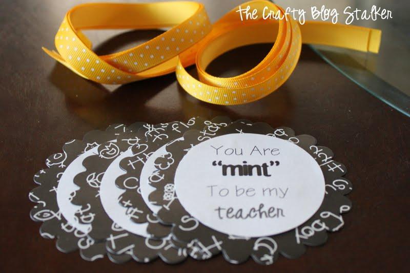 Teacher Gift | Mint to be my Teacher | Handmade Gift Ideas | Craft Tutorial | Back to School