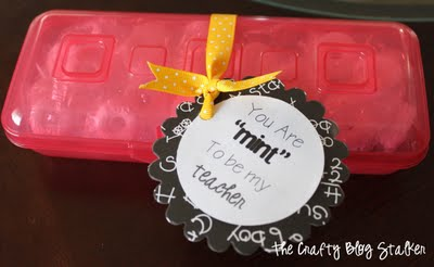 "25 Easy Dollar Store Craft Ideas for Adults featured by top US craft blog, The Crafty Blog Stalker: you are ""mint"" to be my teacher"