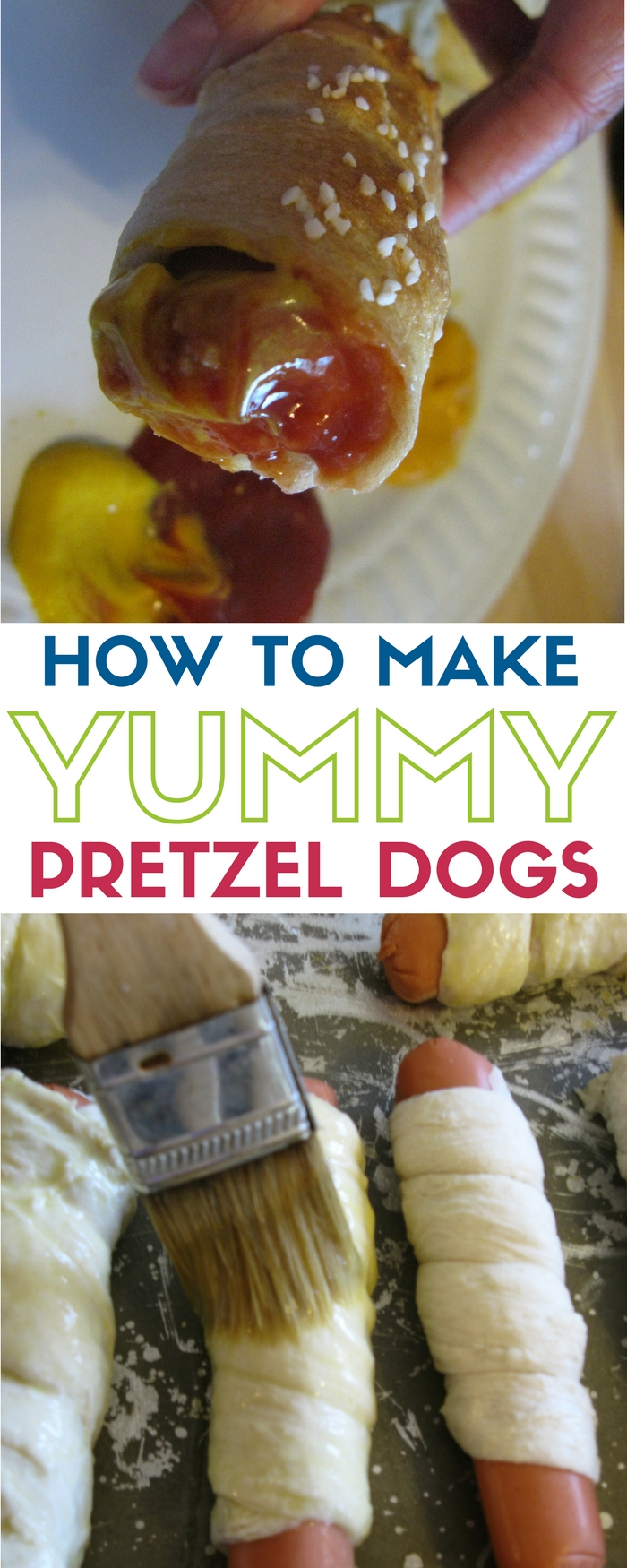 Pretzel Dogs Recipe | Meal Ideas | What's for dinner? | Easy Homemade Recipe