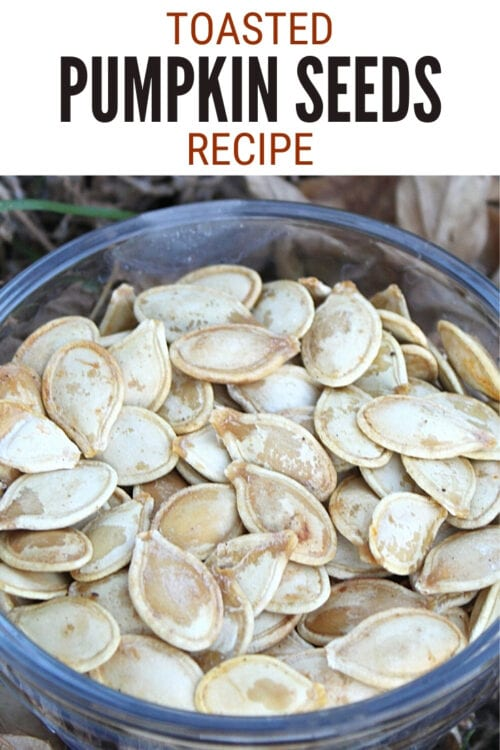 title image for How to Make Toasted Pumpkin Seeds