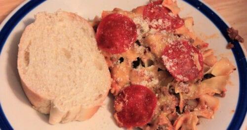 Pizza Casserole Recipe 4