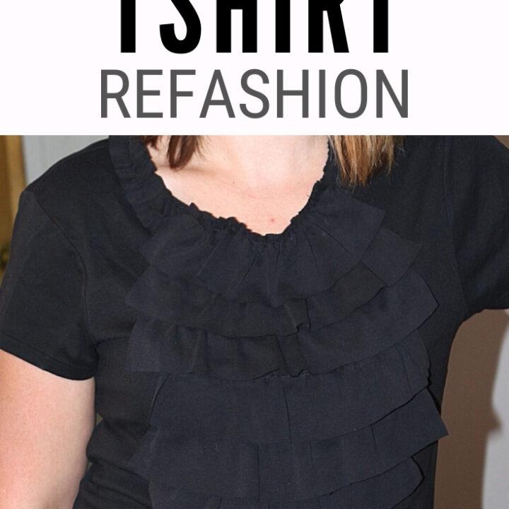 T Shirt Refashion 1