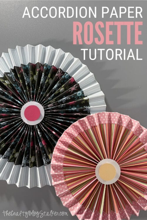 title image for How to Make an Accordion Paper Rosette