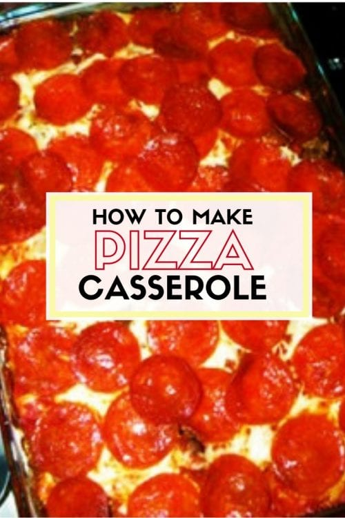 How to Make Pizza Casserole | Easy DIY Craft Tutorial Idea | Family Favorites Dinner Recipes | Pasta | Egg Noodles | Fast