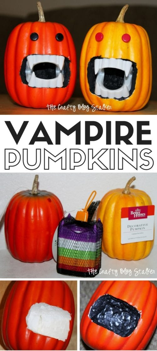 Vampire Pumpkin | Halloween Decor | Pumpkins | DIY Tutorial | Craft Ideas