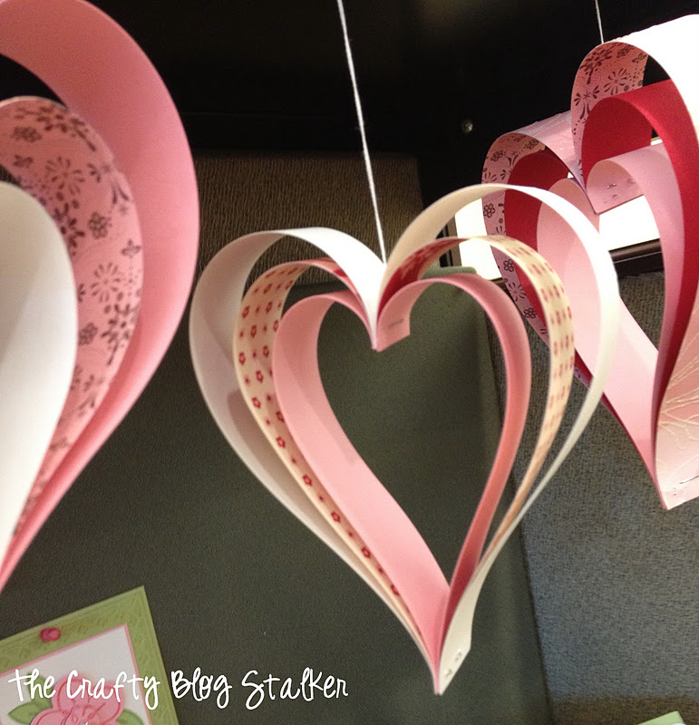 How To Make Paper Strip Hearts The Crafty Blog Stalker