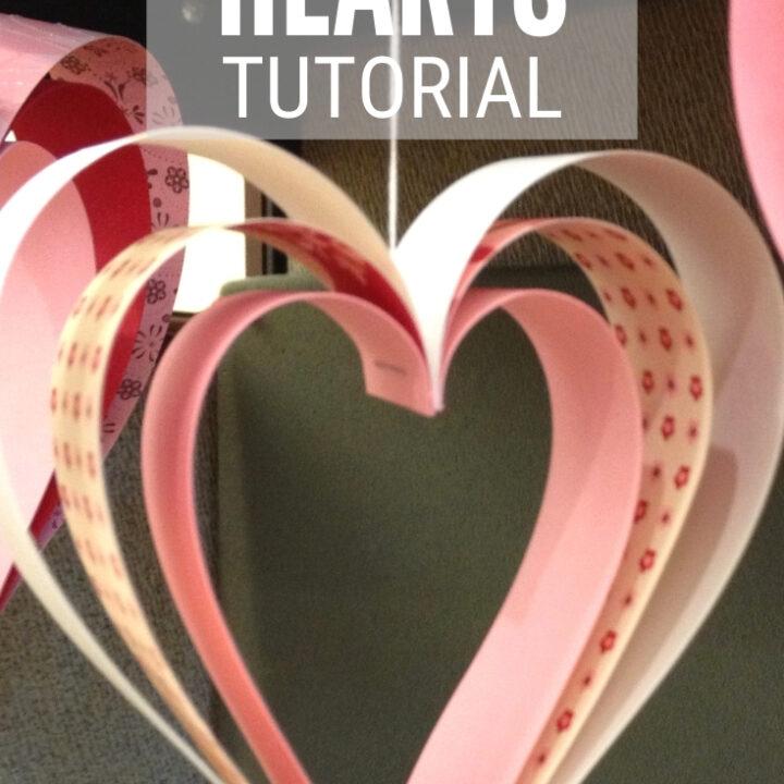 paper strip hearts 3