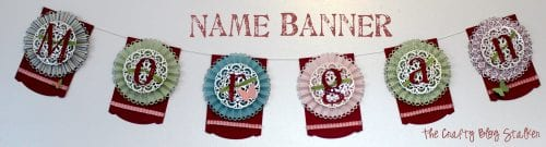 Decorative Word Paper Banner | Paper Crafts | Paper Crafting | Party Decor | Room Decor | DIY