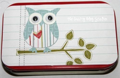 Business Card Holder | Altoids Tin | DIY Case | Cute