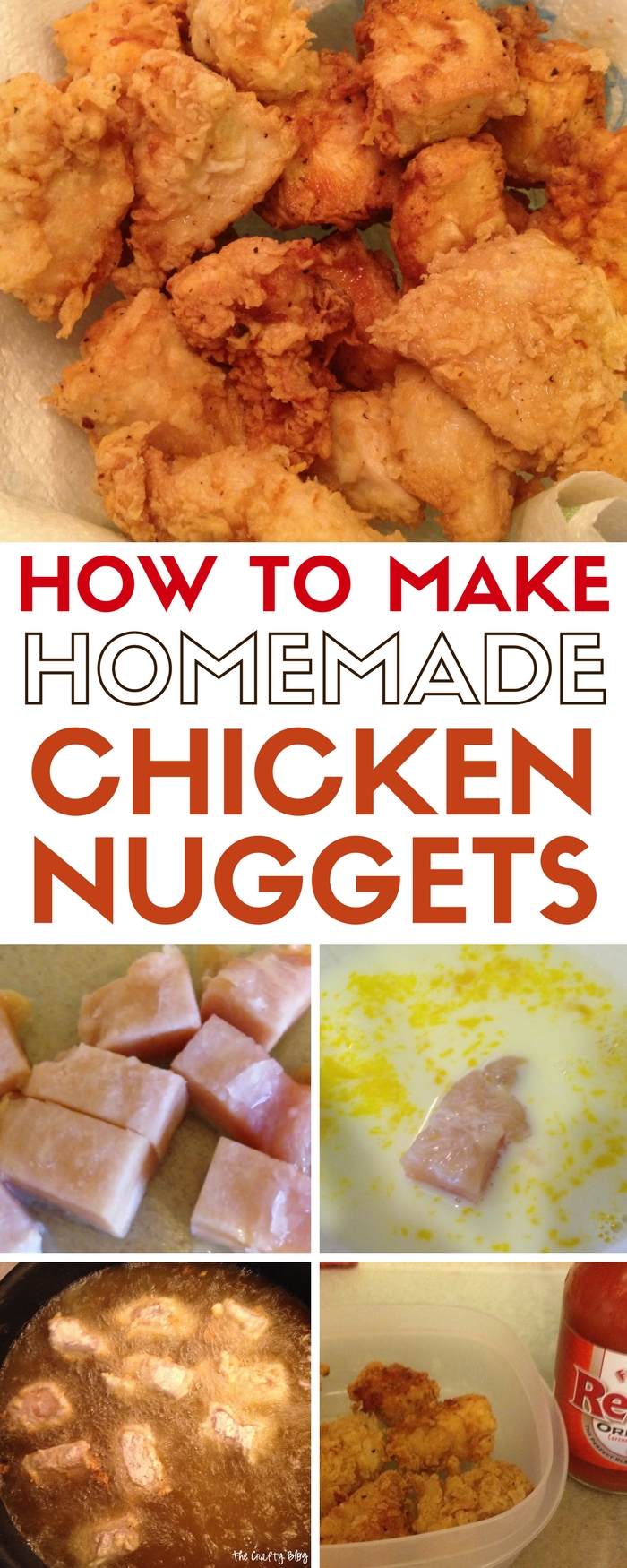 Homemade Chicken Nuggets  Chicken Nugget Recipe  Families And Kids   Recipe Idea  Easy