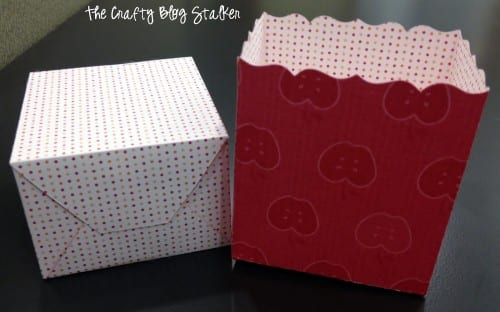 Teacher Appreciation Gift Boxes | Teacher Gift Ideas | Big Shot | Patterned Paper | Handmade | DIY