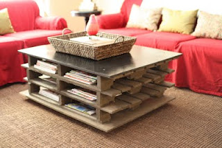 Wood Pallets Home Decor