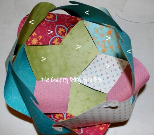 Make a Paper Sphere! Fun party decorations or beautiful home decor. Choose your paper and colors to customize to any theme or event.