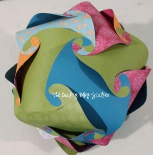 DIY Paper Sphere Tutorial