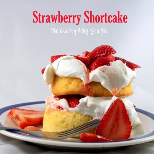 How to Make Low-Calorie Strawberry Shortcake