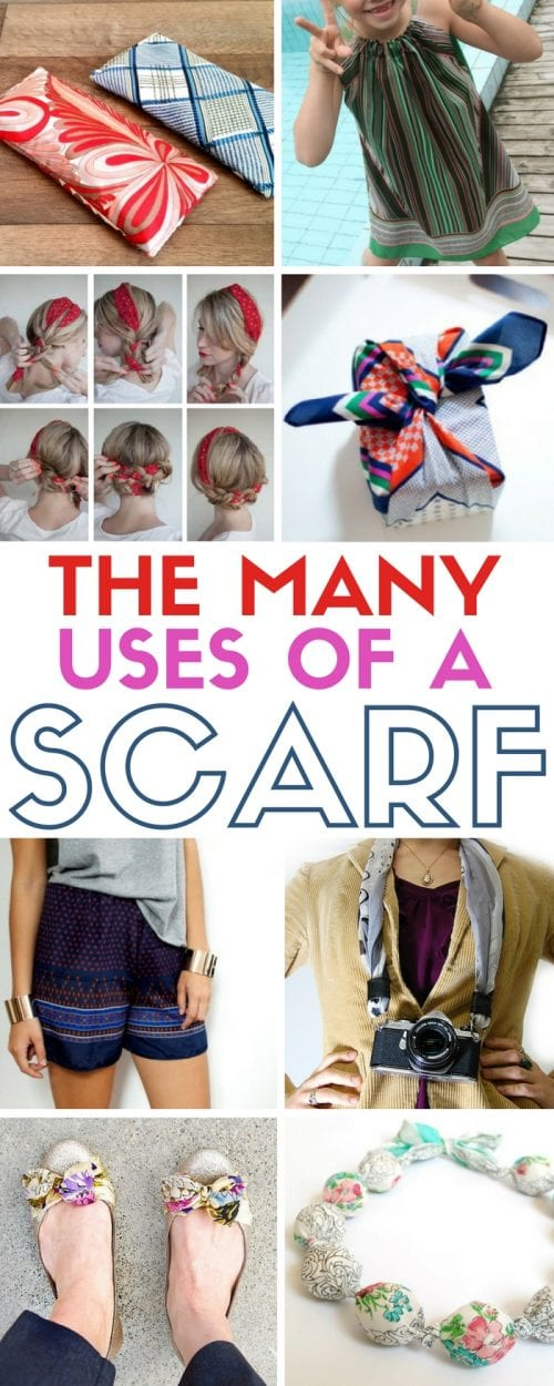 Scarf Craft Project Ideas | Accessories | Silk Scarves | DIY