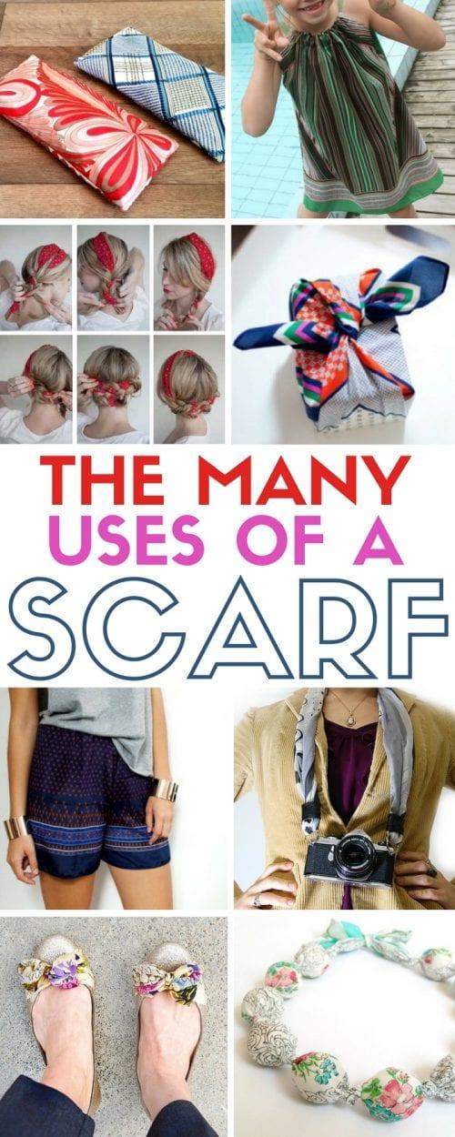 Scarf Craft Project Ideas | Accessories | Silk Scarves | DIY