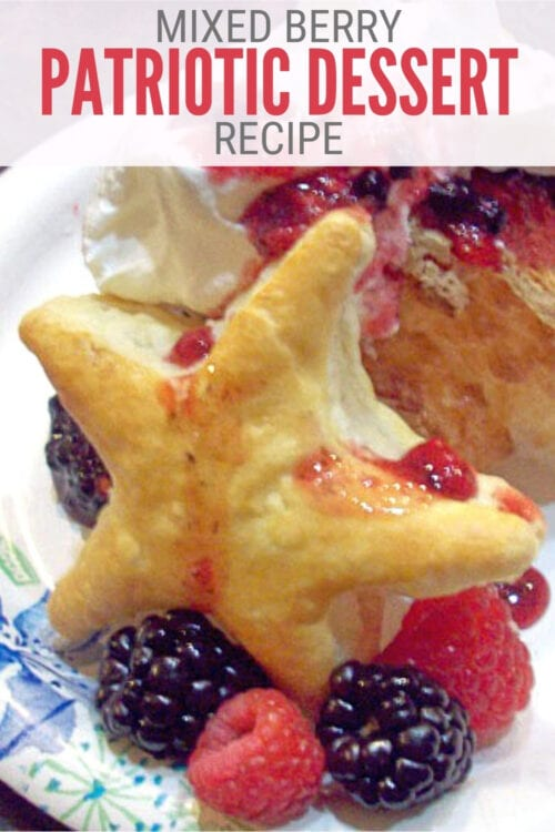 title image for How to Make a Mixed Berry Patriotic Dessert