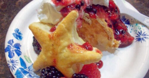 mixed berry patriotic dessert 9
