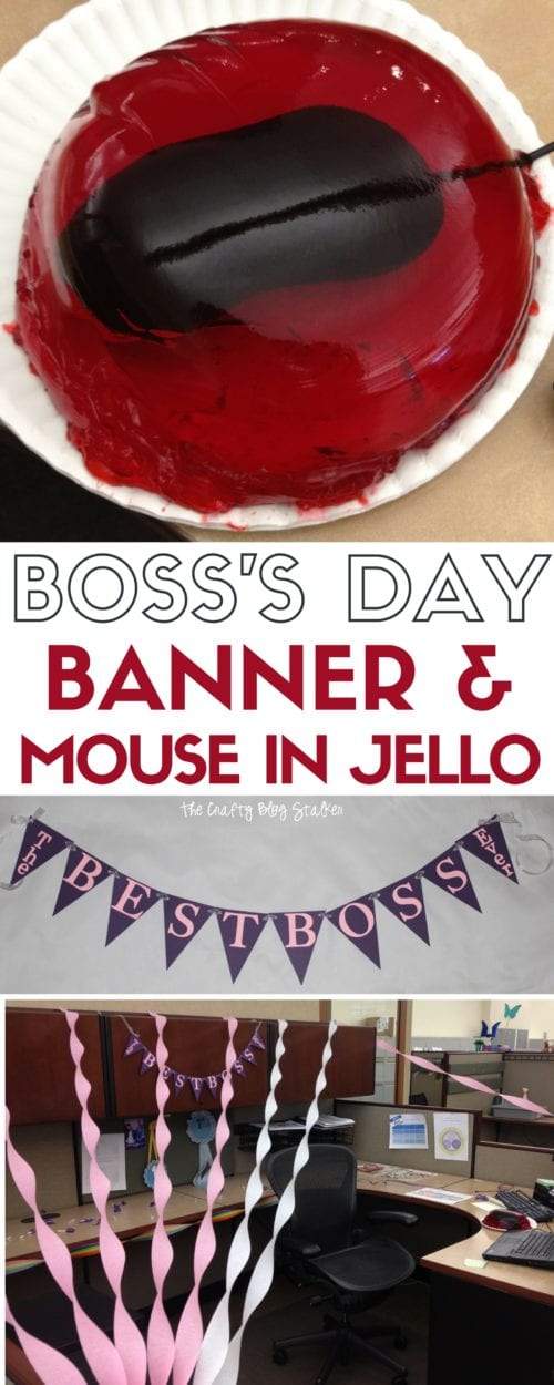 Sometimes you just need to play a prank on your boss. How about the classic mouse in jello? Follow these instructions and you can pull this jello trick too.