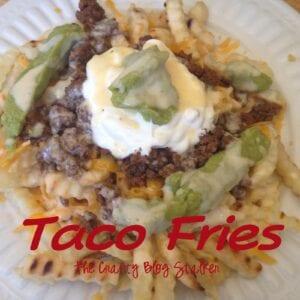 AMAZING Taco Fries Recipe
