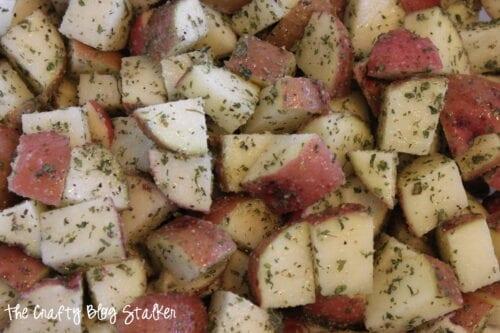 image of ranch seasoned potatoes