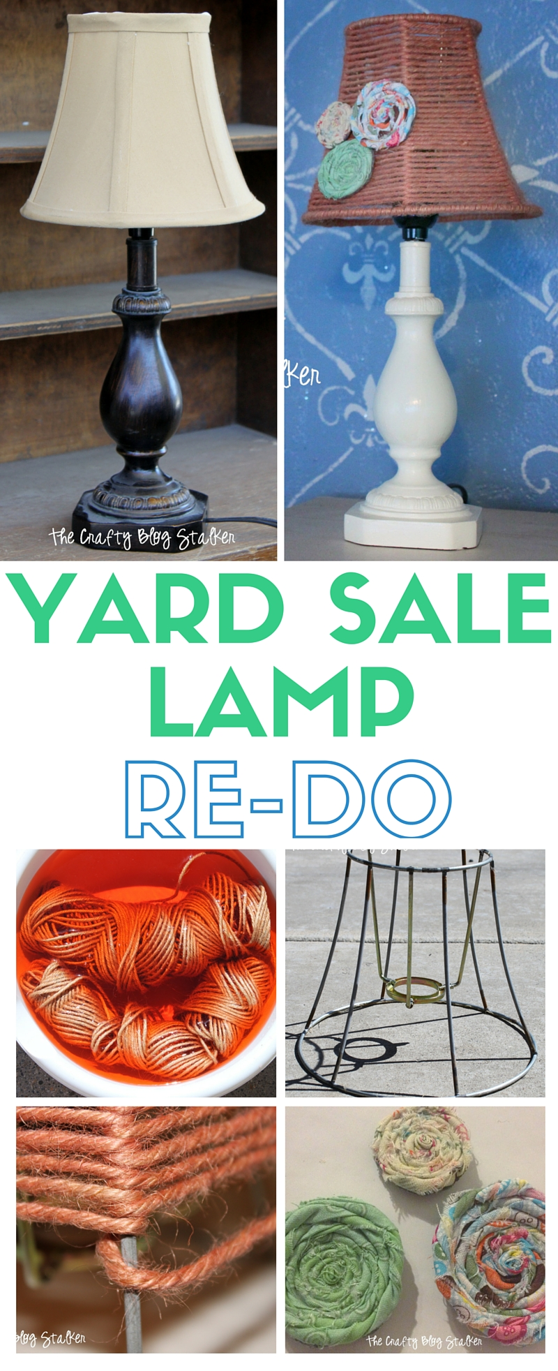 Transform an old yard sale mini accent lamp into a beautiful piece of home decor. A fun and simple re-do project that will you can proudly display.