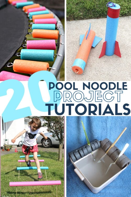 title image for 20 Pool Noodle Projects You Can Make