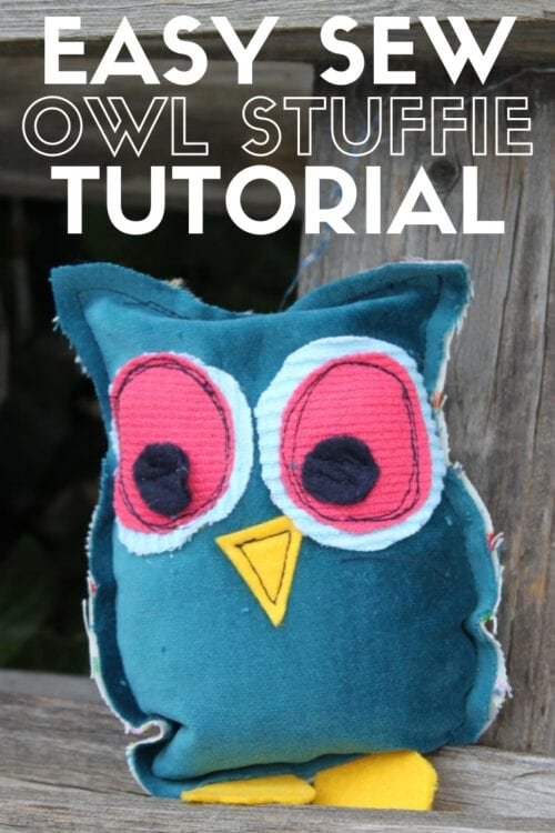 title image for How to Sew an Easy Owl Stuffie