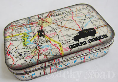 20 Amazing Things to do with an Altoids Tin, featured by top US craft blog, The Crafty Blog Stalker: road trip altoids