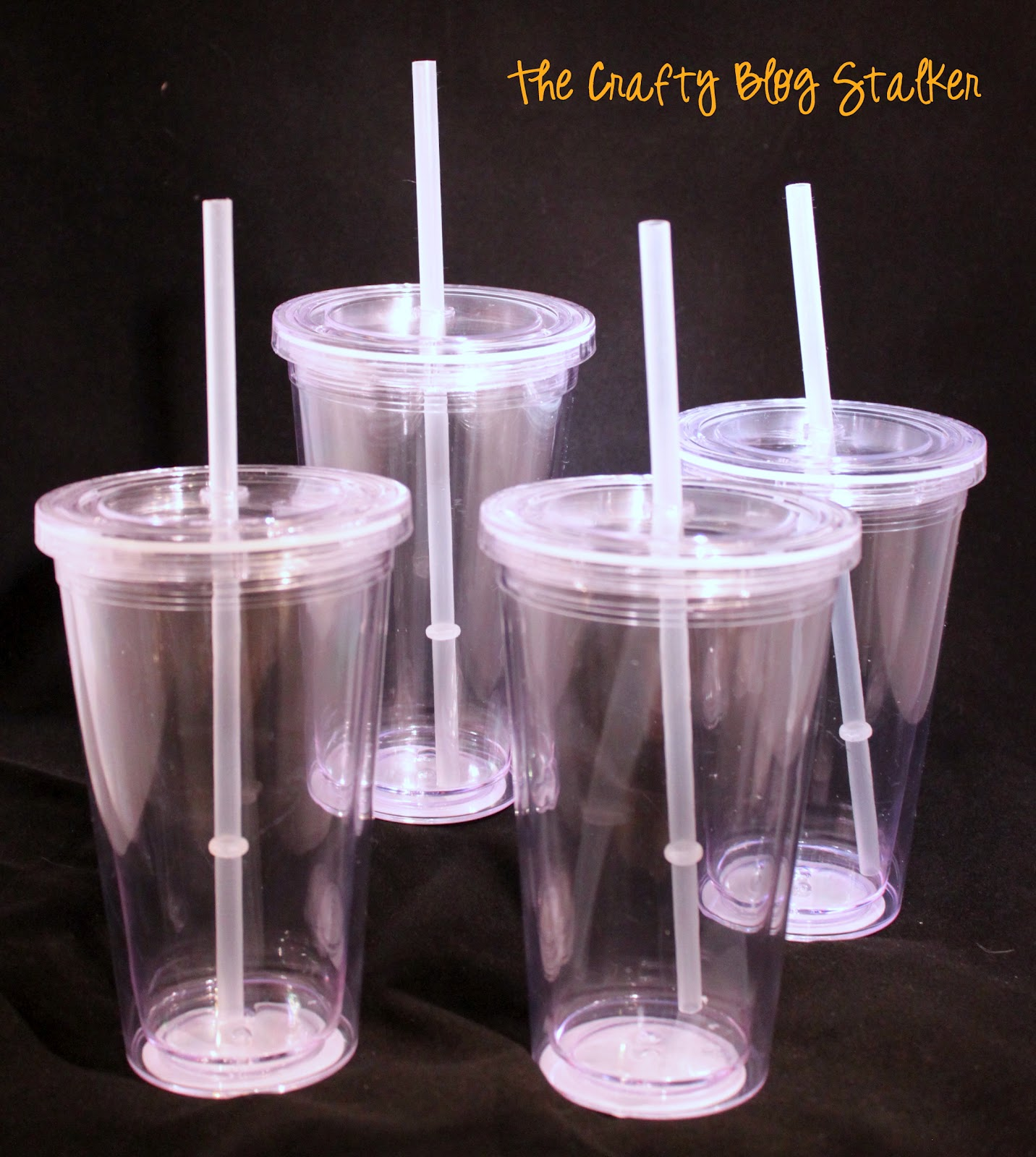 New Teacher Gift Straw Cup - The Crafty Blog Stalker