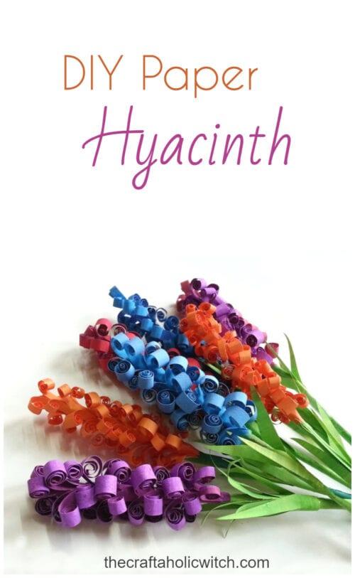 Paper Hyacinth Flowers