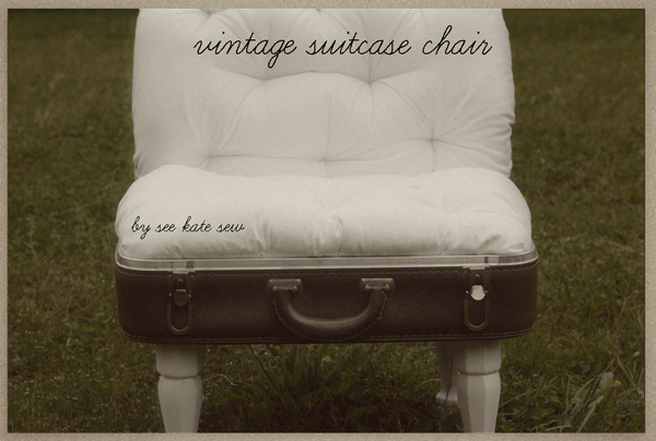 What Can You Make With A Vintage Suitcase The Crafty