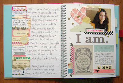 The Start Of A Smash Book The Crafty Blog Stalker