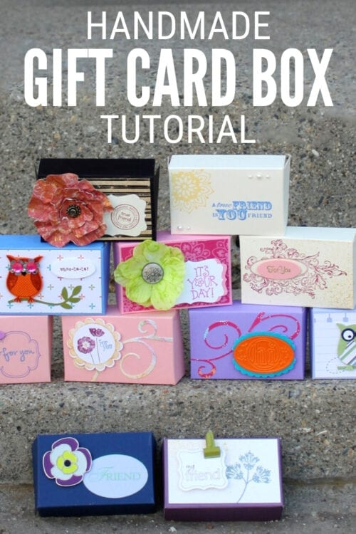 title image for How to Make a DIY Gift Card Box