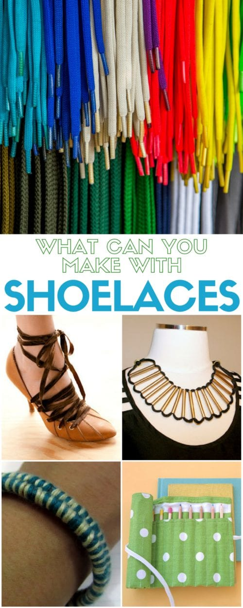 Shoelaces are for so much for than keeping your shoes on your feet. Learn simple DIY craft tutorial ideas on what you can make with shoelaces.