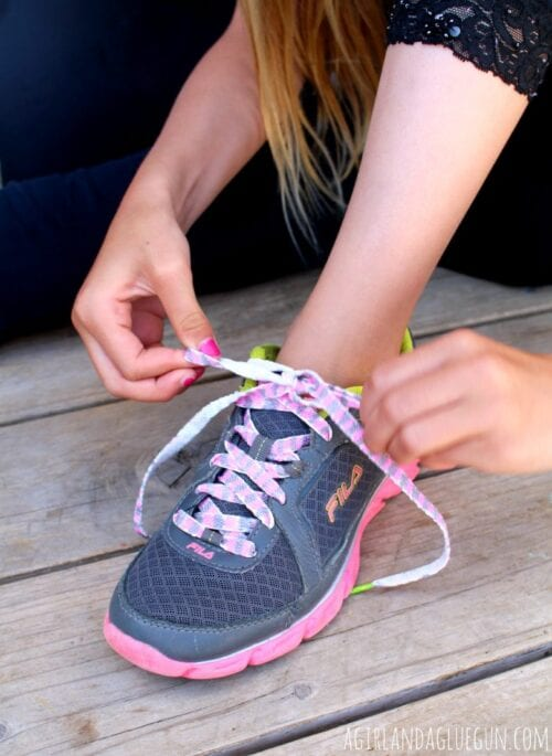 Colored Shoelaces