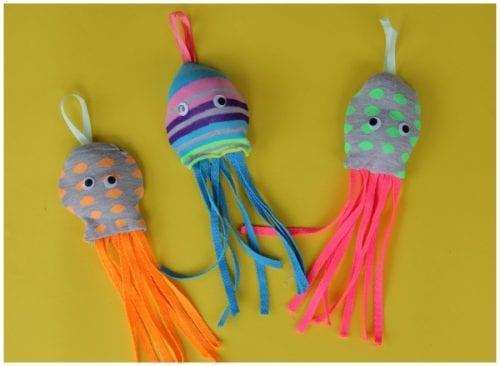 Kids Craft - Socktopus