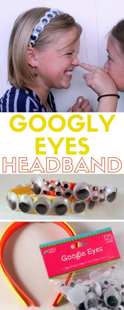 How to Make Googly Eye Headbands | Easy DIY Craft Tutorial Idea | Crazy Hair Day | Halloween | For Kids | For Tweens