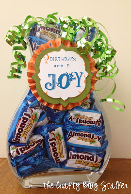 DIY Birthday Candy Jar - The Crafty Blog Stalker