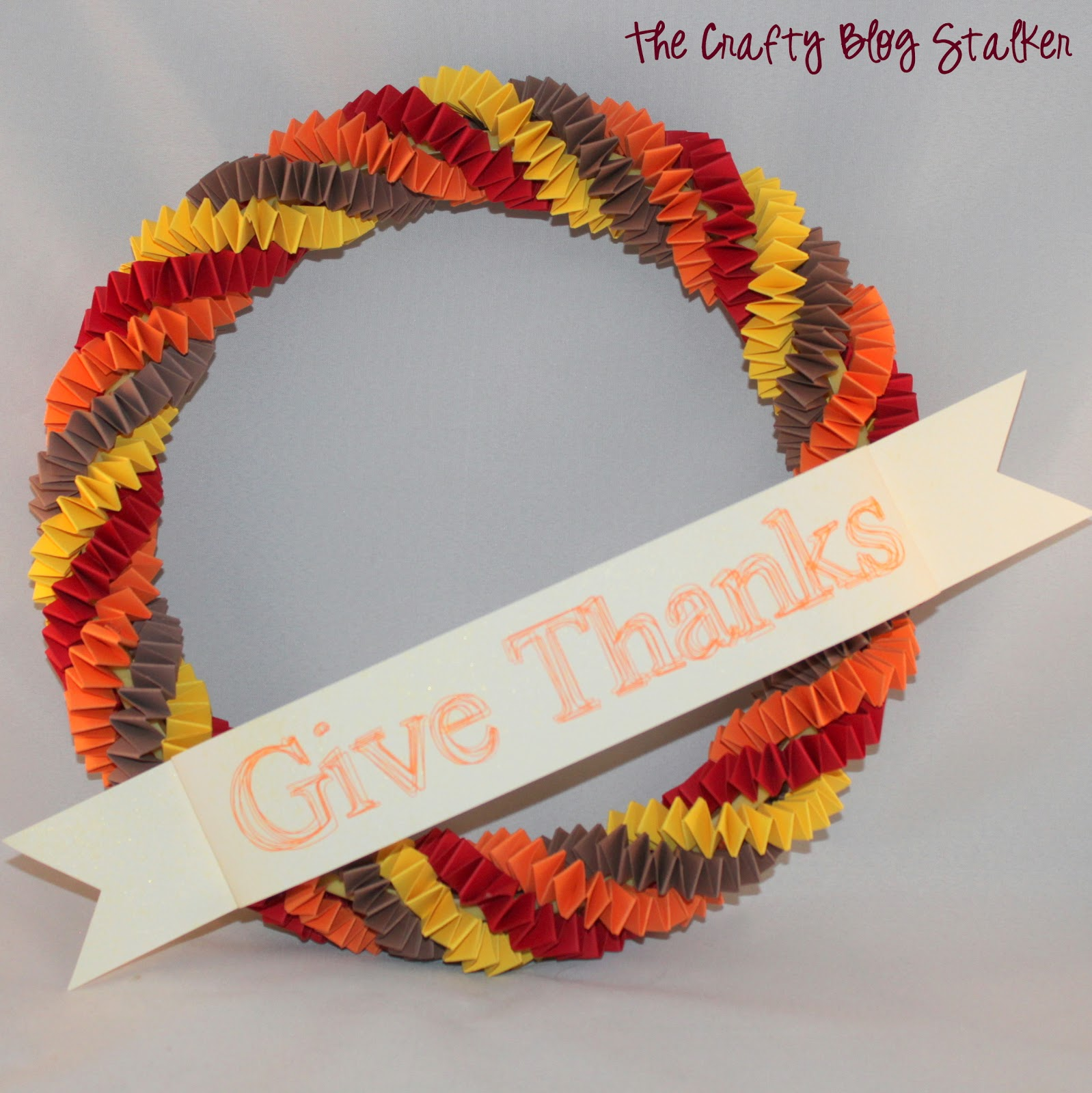 Make a fun Paper Chain Fall Wreath. Follow this tutorial and turn those paper scraps into a wreath to hang on your front door, or beautiful home decor.