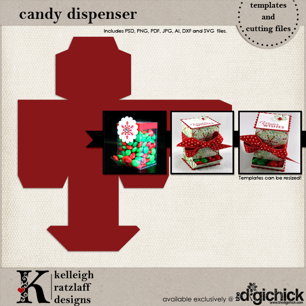 This Halloween Treat box makes a perfect candy dispenser. Give as a teacher gift or keep it for yourself. Made with the Silhouette Cameo and cardstock.