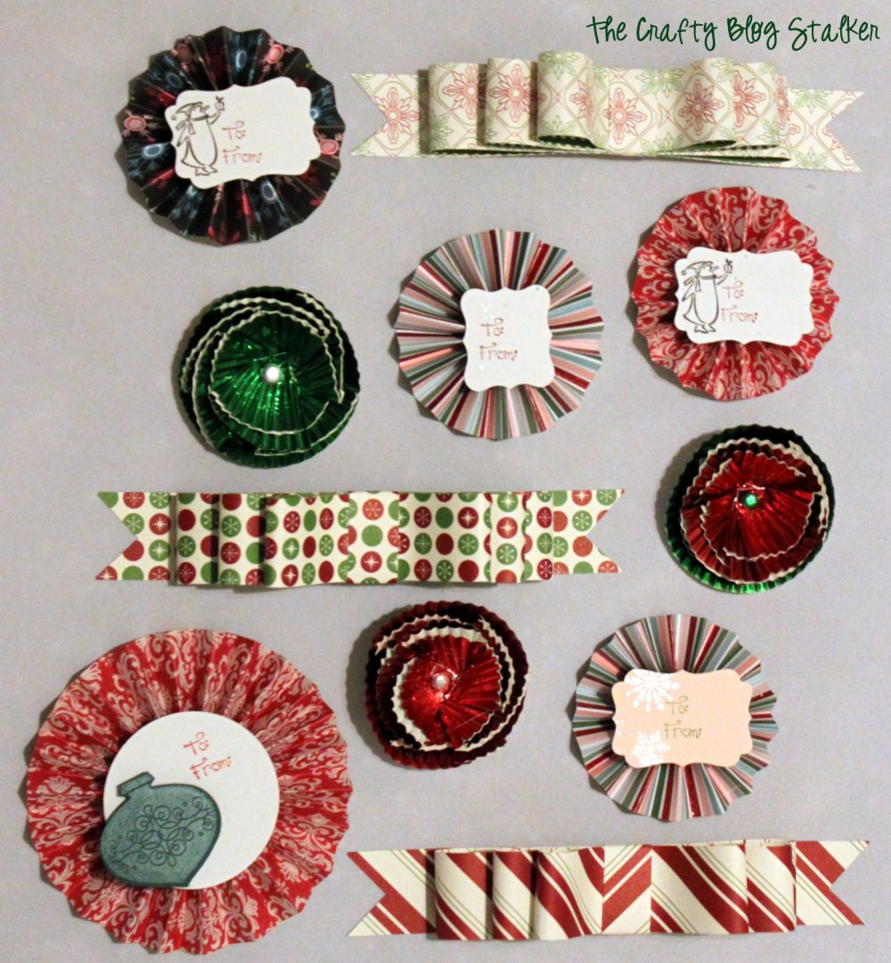 How To Make Pretty Paper Bow Tutorials The Crafty Blog Stalker