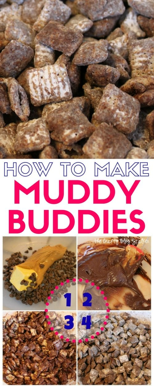 Muddy Buddies Recipe | Snack | Dessert | Chocolate | Chex Mix
