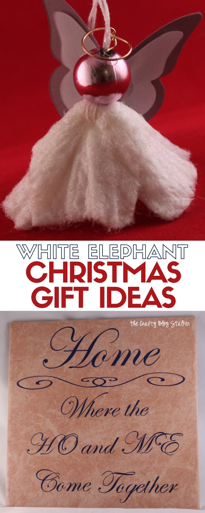 Diy white elephant gift exchange ideas the crafty blog stalker a white elephant gift exchange is a holiday family tradition here are a couple of negle Gallery