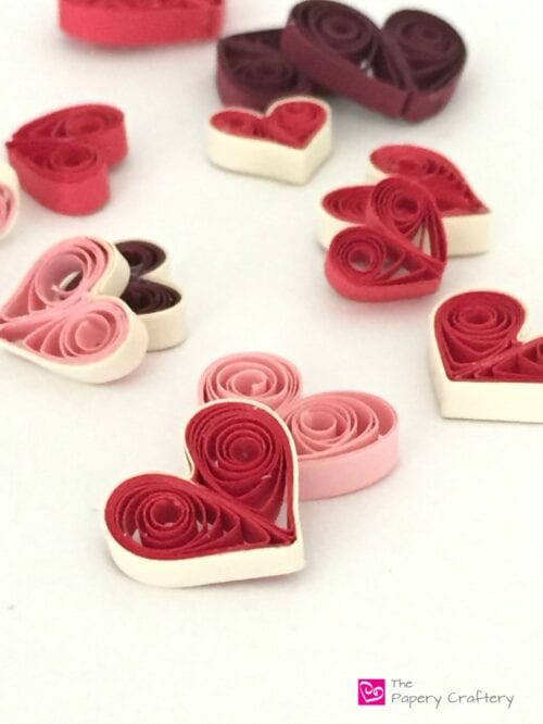 Quilling Paper Valentines Day Heart Tutorial